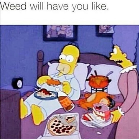 Weed will have you like...