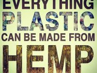 Everything plastic can be made from hemp!