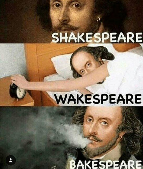 Shakespeare, Wakespeare, Bakespeare