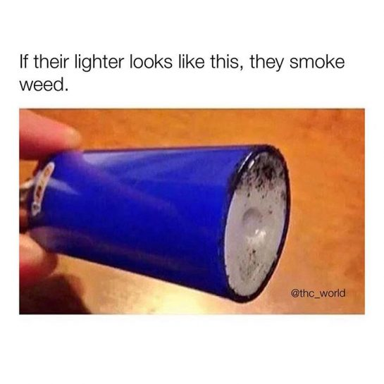 If their lighter looks like this, they smoke weed