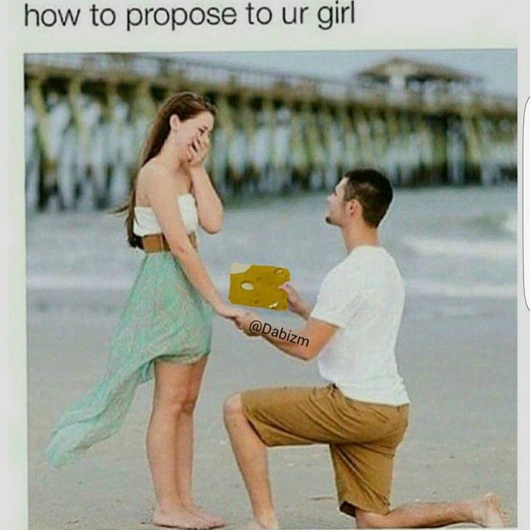 how to propose to your girl