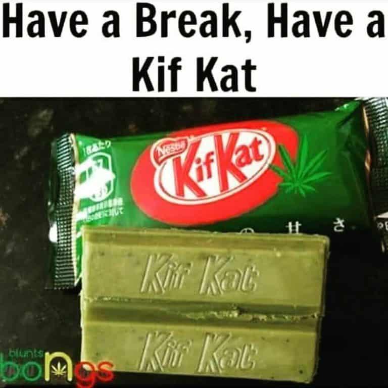 have a break, have a Kif Kat bar