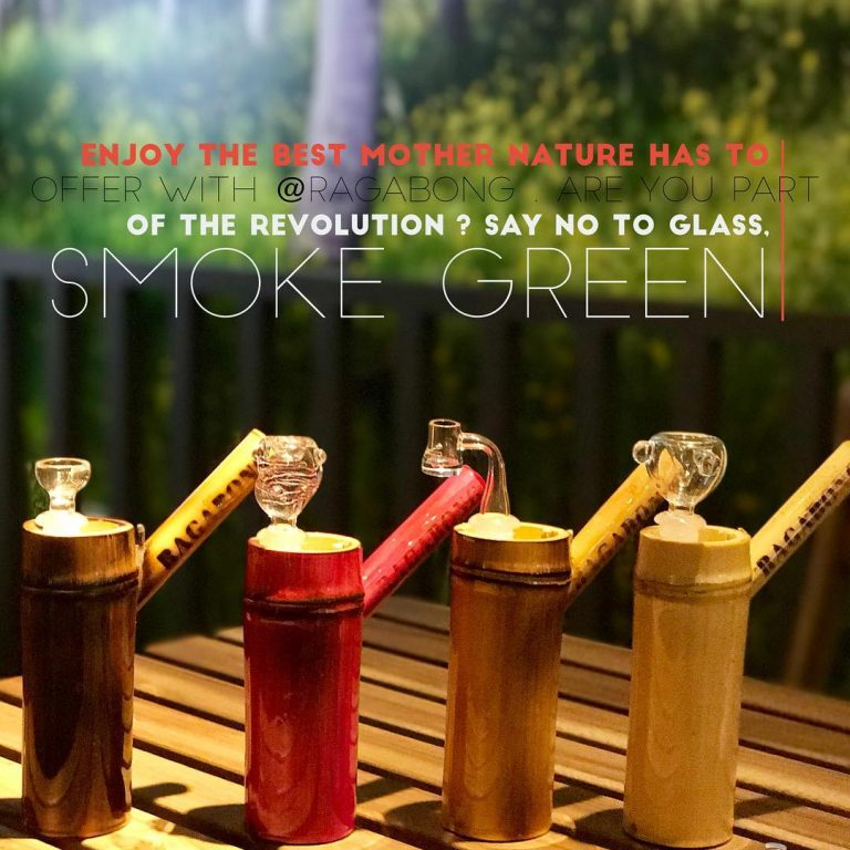 Real Bamboo Waterpipe that is as tough as nails!!! Coated inside and outside with…