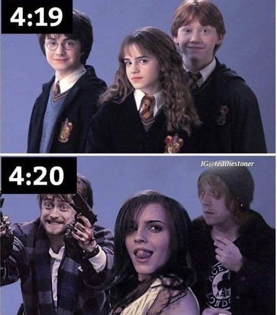 #420Problems#420funny #harrypotheadandthesorcerersstoned via @themarcknightrises