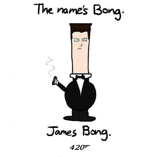 The names Bong, James Bong. 😂————————————————————————Follow @puff.bros for more!🔥————————————————————————Tag a friend 📲 ————————————————————————#420Problems#weedhumor#jamesbong#420#007#weedmeme#weedmemes#funny#funnyweed#weedpun#weedpuns#legalizeit#maryjane#cannibas#cannibascommunity#cannibasculture#puffbros#ganja#bong#bongs#meme#memes#weedlife#marijuana#funnymemes#funnyshit#lol#lmao via @puff.bros