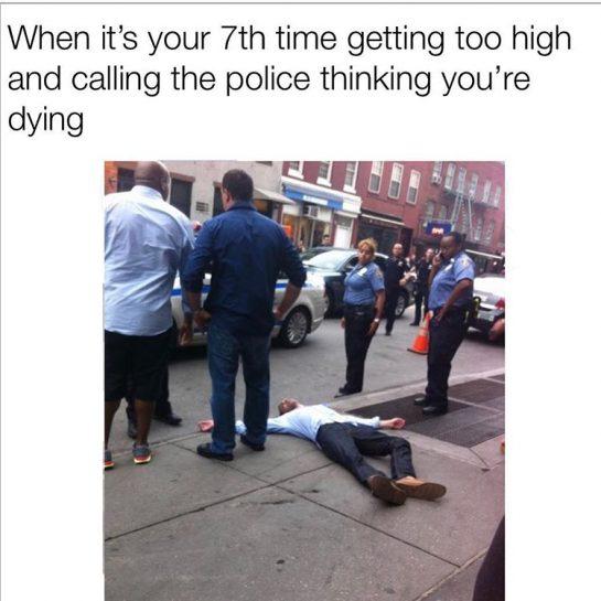 I think I'm dead fam #420Problems#funny420 #funny420memes #cannabiscommunity #weedhumor #funnyweedmemes #funnymemes #420memes #0 #weedmemes #stonerhumor #maryjane #dab #weeddisney #wakeandbake #stonergirl #stonerdays #spacecakesboutique #sativadivas #sativa #marijuanahumor #indicacouch #indica #gethigh #bongs #bongrips #bongbeauties #420humor #cheechandchong #weed #memesdaily via @i.am.joe.kang