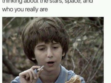 Hahahaha #420Problems#marijuanamemes #marijuanafunnies #laughingmyassof #whenyousmokealone #funnythingsyoudohigh #spaceout #Iamtaco via @xiicepinkix