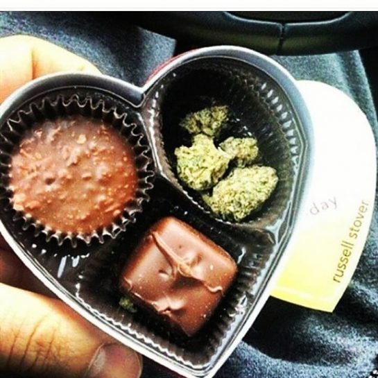 "What's a birthday gift without chocolate ijs#420Problems #weedhumor #weed bc the thought counts ""the lil things are important "" you sexy biiish #420 #stonerthoughts via @str8shooterrr"