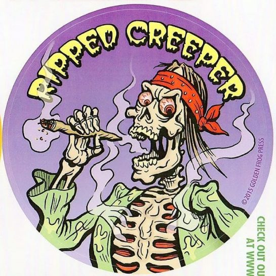 The Ripped Creeper, horror host of Tales from the Danksyde, available exclusively at DriveThruBud.com #420 #comics #horror #monster #halloween #ghost #ghoul #710 #nato_gomez88 #stoner #420humor via @drivethrubud#420Problems, #420funnies, #420memes, #marijuanafunnies,