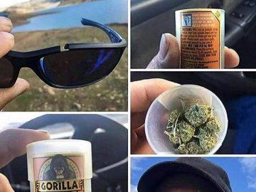 Heheh😏 #lol #memes #stonermemes #potheadhumor #cannabiscommunity #gorillaglue #broken #sunglasses #ganja #420nation #haha #jokes #nshit #hashtags #like4like #followme #f4f #ganjaman #hippie #rainyday via @thedabbinhippie#420Problems, #420funnies, #420memes, #marijuanafunnies,