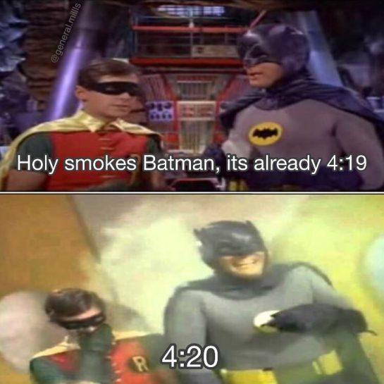 Quick Robin to the bat bong @general.millls @general.millls @general.millls • • • • #batmanandrobin #its420 #classicbatman #birdboy #batbong #smokebong #bongrips #batmanfan #batmanmemes #420somewhere #batmanandrobineternal #brucewayne #dccannabis #batmanmeme #batmanfan #batmanisawesome #420memes #adamwest #smokingweed #adamwestbatman #burtward #litaf #holysmokesbatman #holysmokes #thebatman #420lifestyle #bonghits via @general.millls#420Problems, #420funnies, #420memes, #marijuanafunnies