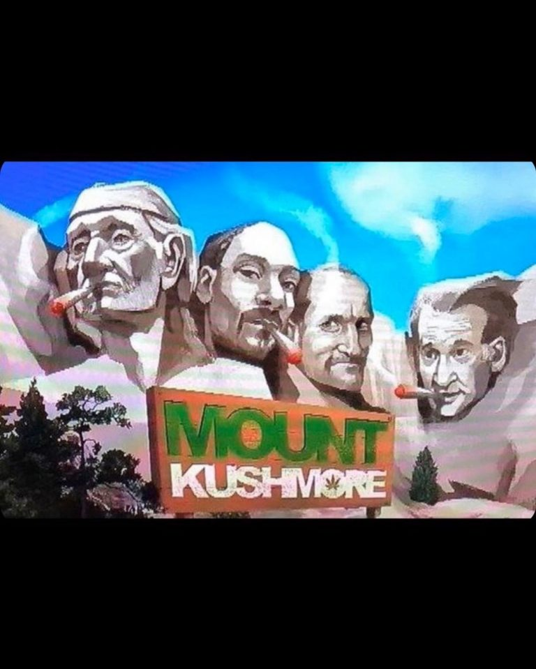 Follow @weed_truth The new and better Mount Rushmore Follow @weed_truth