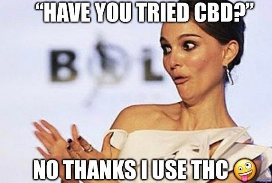 Ya don't say?! This is the most common BS reason to not try CBD…