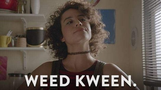 Yassss Kween!!! #broadcity #broadcitymemes #broadcityforever #weed #weedkween #weedkweens #weedmeme #weedlife #weedlove #weedsmoke #weedislife #weedislove…