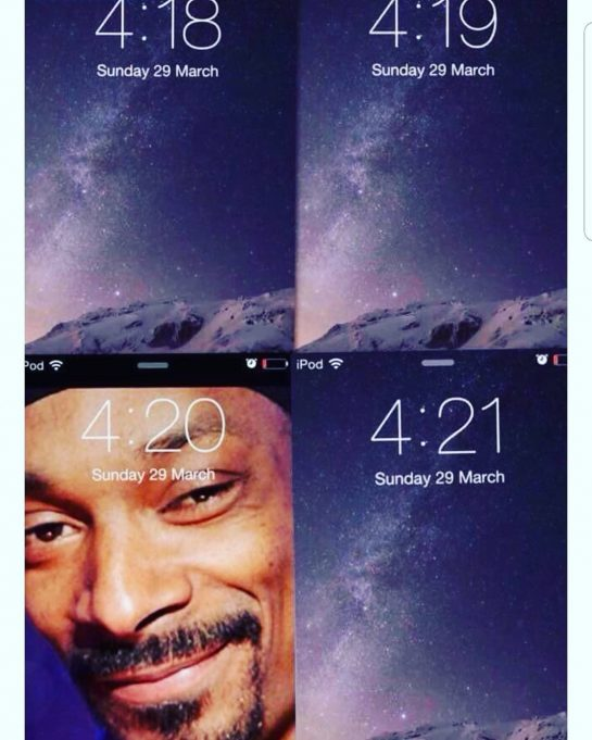 @snoopdogg new feature in the new iPhone 11 Pro . . . . .…