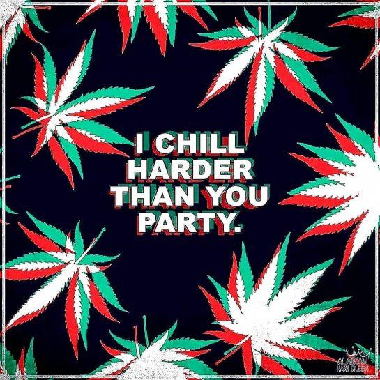 Chillin hard AF #chill #chillin #chillhard #chillhardaf #weed #weedsmoker #weedsmoke #weedmeme #weedlife #weedlover #weedlife…