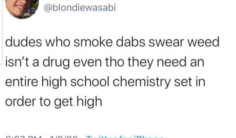 Are dabs drugs? @bloodsweatandmemes @bloodsweatandmemes @bloodsweatandmemes #weedmemes #weed #weedmeme #marijuana #marijuanameme #marijuanamemes #dabs #dab…