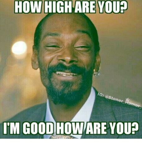 How high are you? Happy Tuesday's ! . . . . . . #howhighareyou…