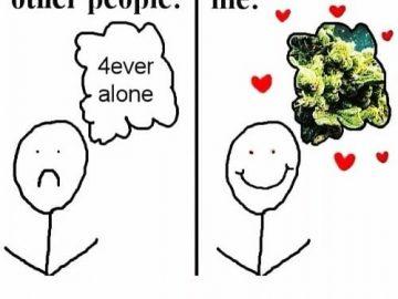 Pretty much me lol🥦 #weed #weedmeme #haze #kush #weedgirl #pot #godsplant #ganja #green #ganjagirl…