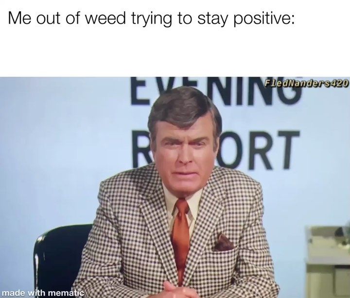 out of weed and need a high? follow fled. Orrrr if you take a…