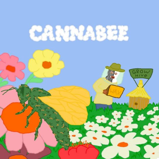 cannabee ferm #420art #420 #420meme #420memes #weed #weedart #weedmeme #weedmemes #stonerart #highmemes #stoners #stonermemes…