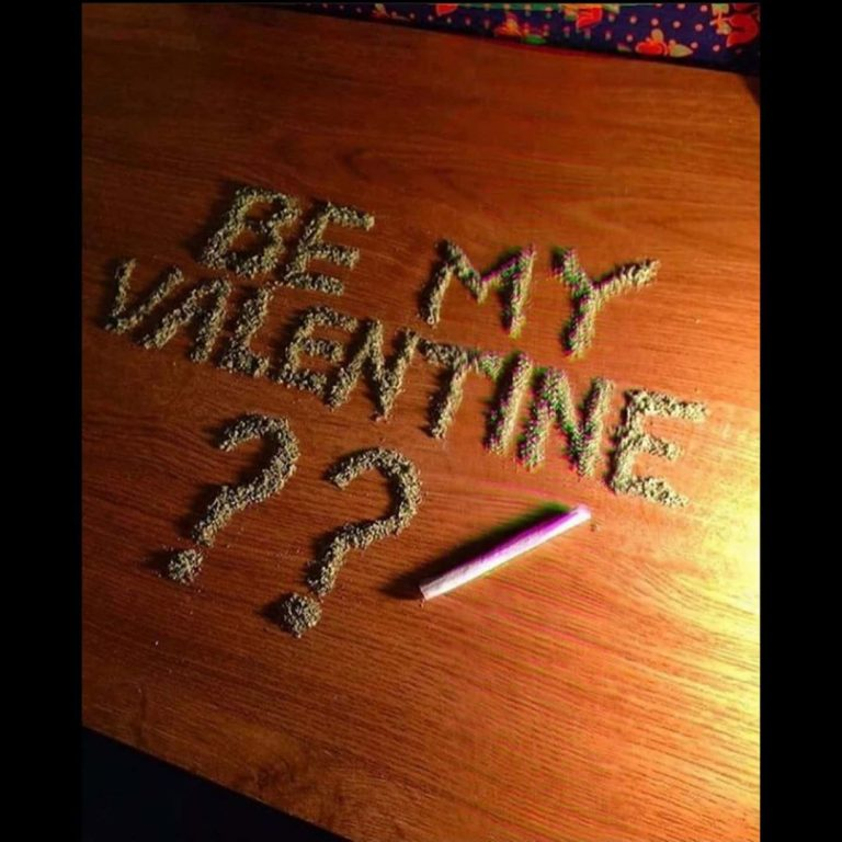 Happy valentine's day!! Fonte: Instagram #weed #stoned #ganja #weedgirls #cannabis #stayhigh #weedlover  #marijuana #high…