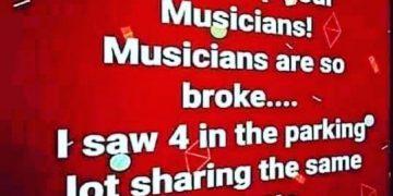 Is poor musicians gotta share. #weedmeme #420 #420everyday #burnone #chiefgreenbud