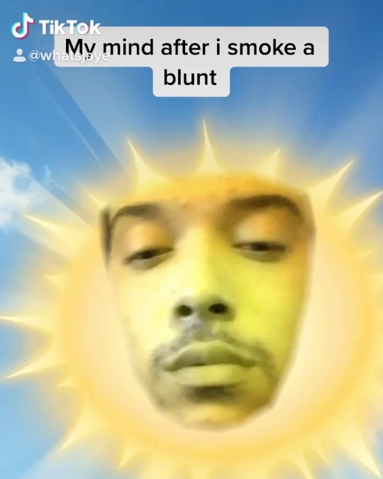 My mind after i smoke a blunt🤣 Tag a friend who does this (credit:…