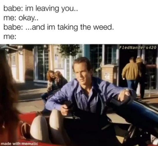 Babeeeeee! 🤭 . . . #420 #weedstagram420 #420 #smokeweedeveryday #ganja #weshouldsmoke #puffpuffpass #thc #weedstagram…