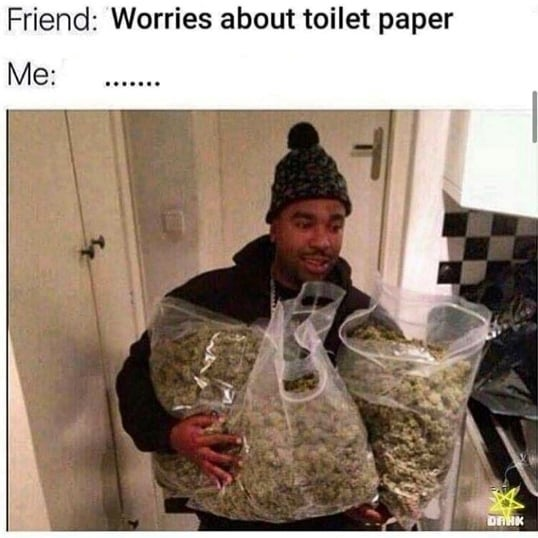 Got to worry about the real important stuff here #420 #weedmemes #2020 #funnymemes #memes…