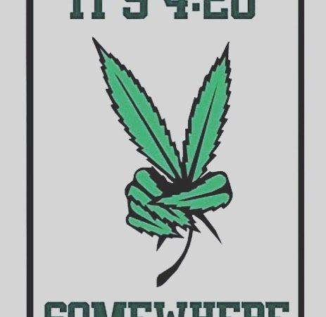 It's 420 all day 🤷️ • • #stonernation #stoners #kushlife #weshouldsmoke #fueledbythc #instaweed #topshelf…