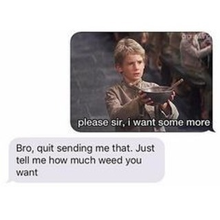 #weedman #olivertwist #emptybowlssuck #medicateresponsbily #marijuanamemes #stonermeme #weedmeme #hightimes #highlife #medicalmarijuana #michiganmarijuana #puremichigan #cannabis #cannabiscommunity…