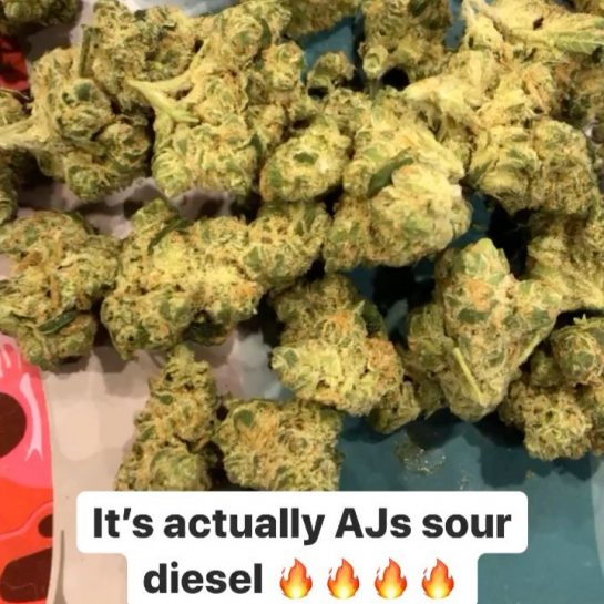 This AJs sour diesel from @ is some straight . Walked in the store…