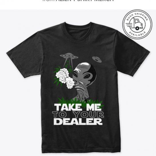 Alien T Shirt design on shirt. Choose Jacket, Tank Tops, and shirt. Send it…