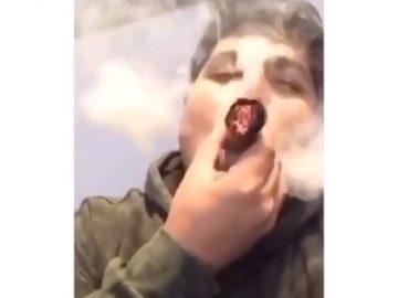 God damn @yola_youtube Tag a friend Follow @ for more! : : : #weedporn…