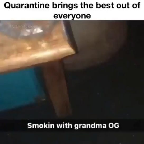 Grandma needs another hit Follow @ Follow @ . . . . . #weed…