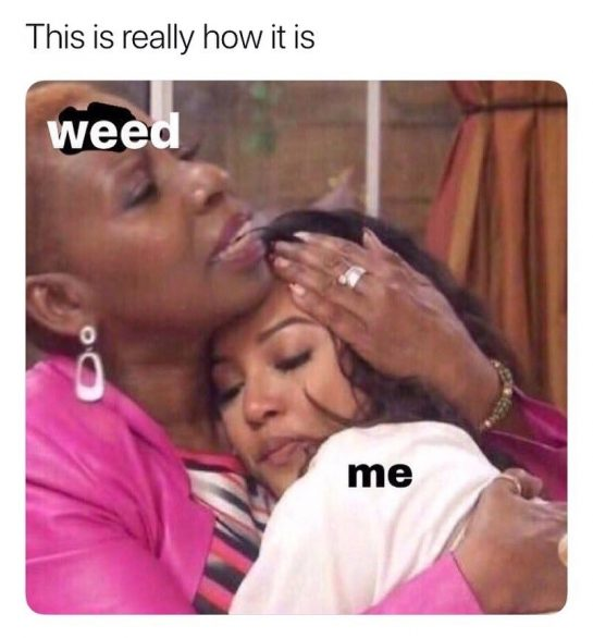 Weed is love🥰️⠀ ⠀ ⠀ #weedmemes #weedmemesdaily #weedmeme #weedmemes420 #weedmemeseveryday #cannabismemes #cannabismeme #stonedmemes #highmemes…