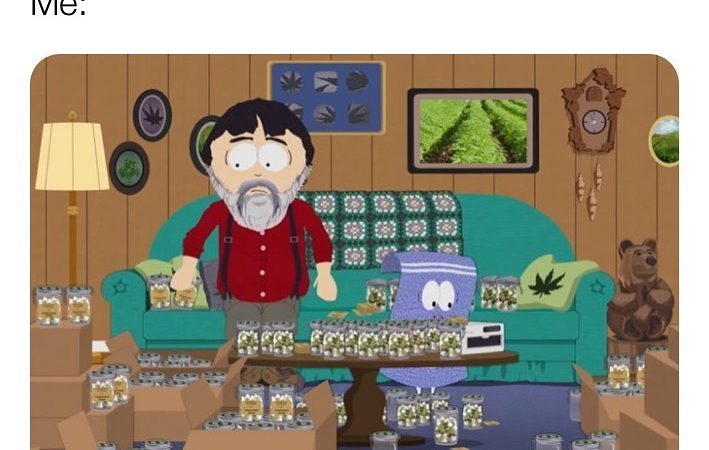 Pretty much 🤣@southpark #southpark #comedycentral #weedmeme #weed #weedmemes #memes #meme #cannabis #weedporn #stoner #weedhumor…