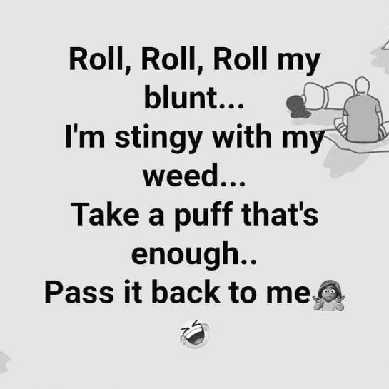 ?HAHA have a great day!? #funnyweedpost #weedmeme #stonergirl weednation