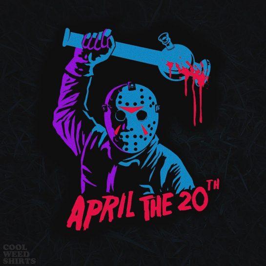 This April 20th, the bong hits ( shirt dropping tomorrow )