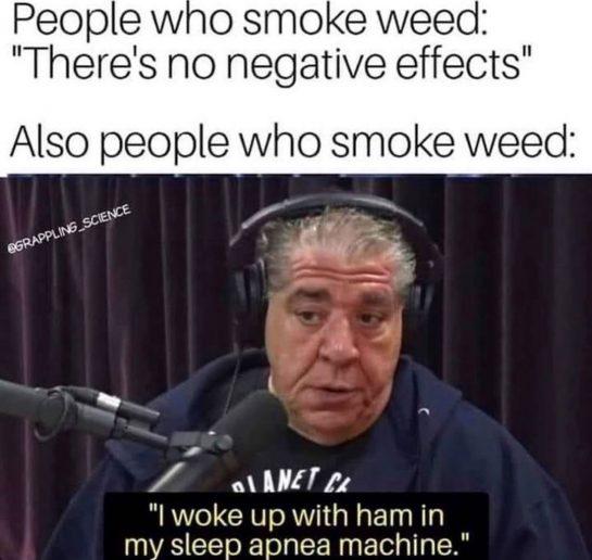 The 2 are not mutually @joerogan @madflavors_world #420 #blazeit #legalizeit #weed #cannabis #cannabiscommunity #marijuana…