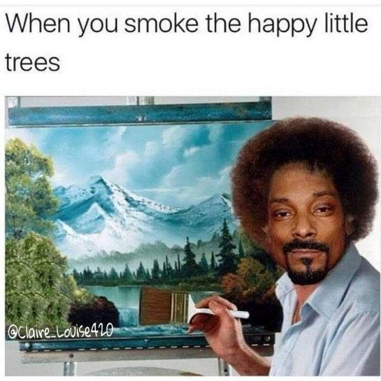 Those Happy Happy little trees . . . . . @snoopdogg @smokingpounds #420 #weedstagram420…