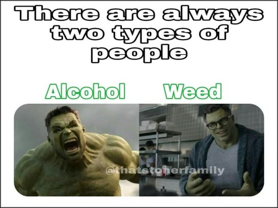 Which one are you? 🤔 . . . . . . #420 #weedmeme #blazing…