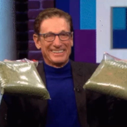 You said that your weed was fire. The lie detector test determined that was…