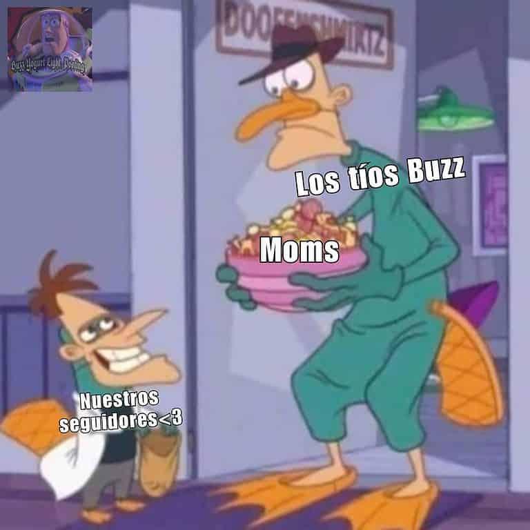 Los tíos Buzz les mandan saludos