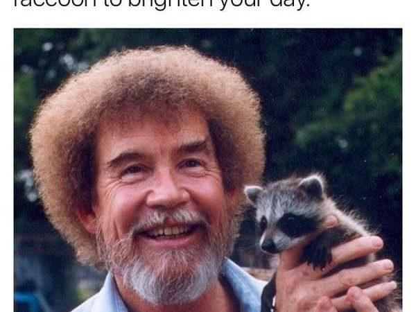 Bob Ross The Legend . . . . . #bobross #bobrossmemes #edgymeme #funnymeme #dankmeme…