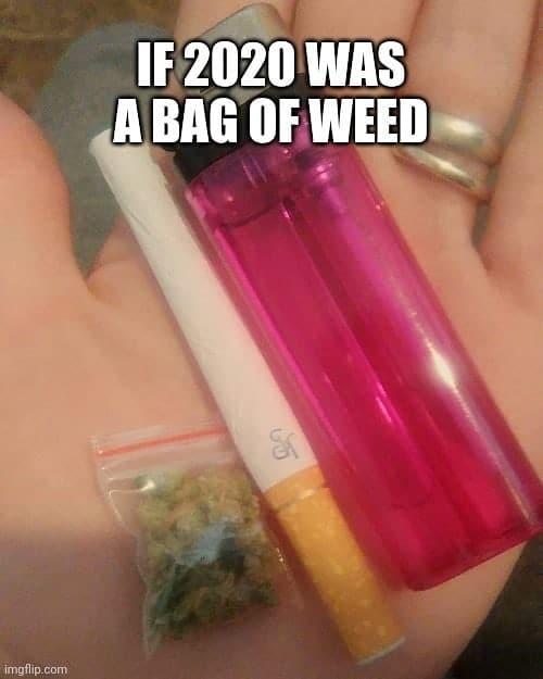 If 2020 was a bag of weed #meme #weed #weedmeme #cannabis #corona #coronavirus #covid19…
